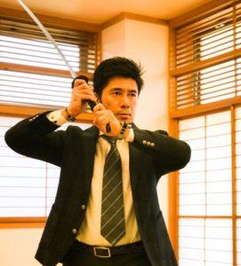 一般社団法人国際護身武術連盟剣代表黒木博文